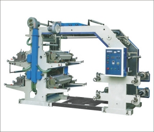 BD 4 Color Relief Printing Machine