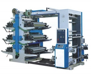 BD 6 Color Relief Printing Machine