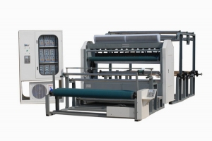 1850 3-Layer Feeding Ultrasonic Quilting and Embossing Machine