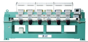 Multi Heads of Cap Embroidery Machine Series