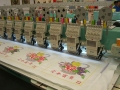 Multi Heads of Flat Embroidery Machine Series